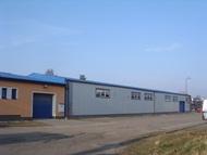 Výrobní hala (truhlárna) a sídlo firmy KBV s.r.o. - Hradec Králové
